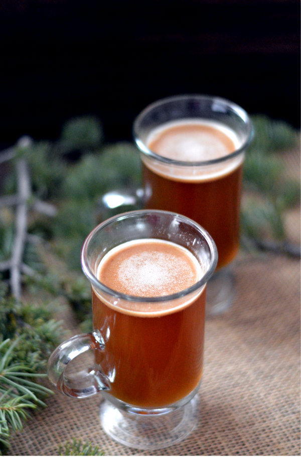 Get this easy, warming, festive hot buttered rum into your belly right now! Recipe for hot buttered rum on CaretoPair.com