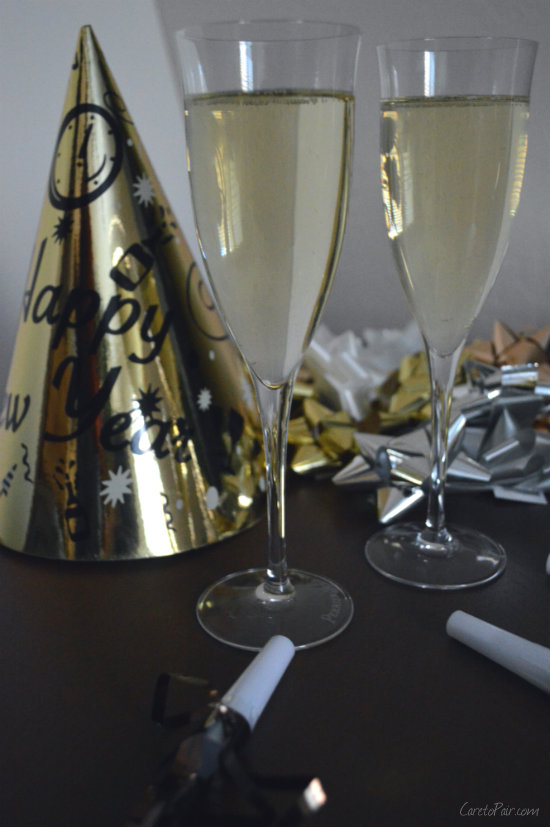 New Year Champagnes | CaretoPair.com