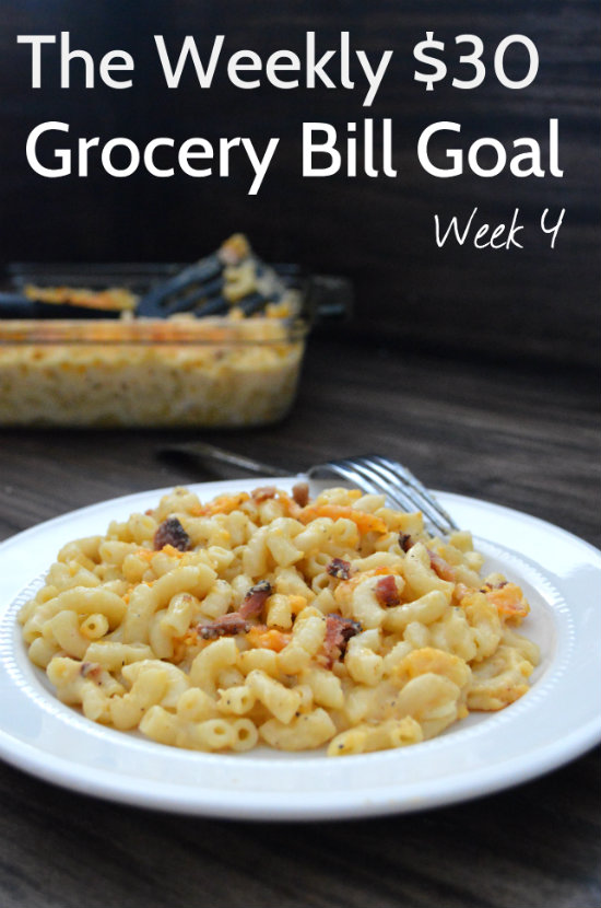 How to Plan Budget Meals with a $30 Weekly Grocery Bill Goal | CaretoPair.com