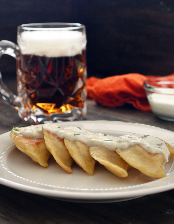 Homemade Pierogi and a Beer Pairing | on CaretoPair.com