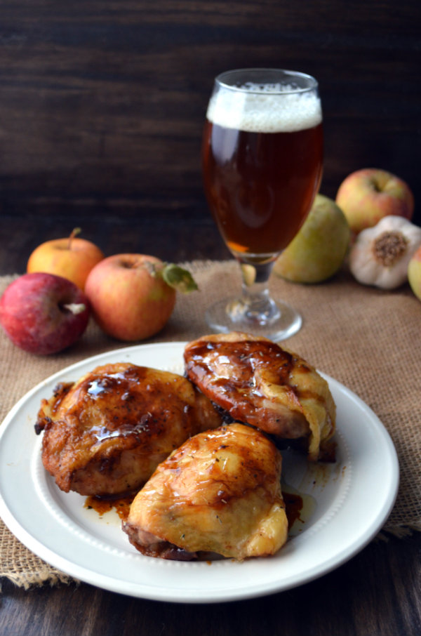 Pumpkin Beer Pairing with Brown Sugar Roasted Chicken | CaretoPair.com