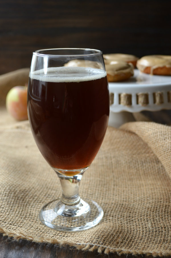 Pumpkin Beer Paired with Apple Maple Donuts | CaretoPair.com