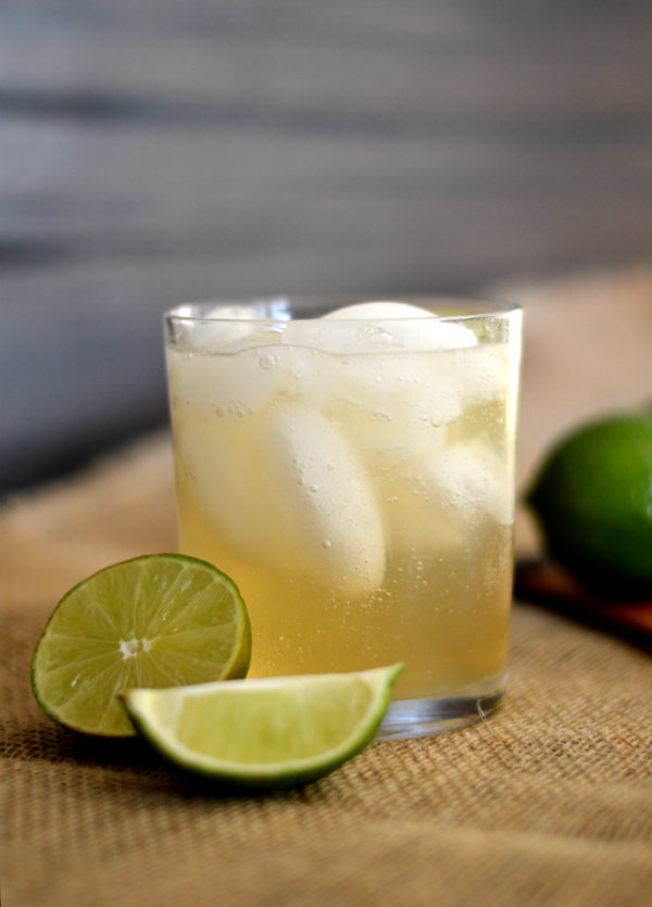 The Foghorn Cocktail: Gin, Lime Juice, Ginger Beer | CaretoPair.com
