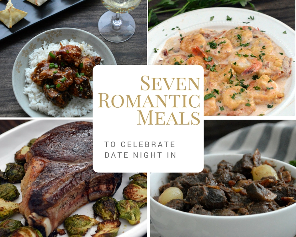 Skip the restaurant crowd and have a date night at home! Each meal includes wine or beer pairings to match