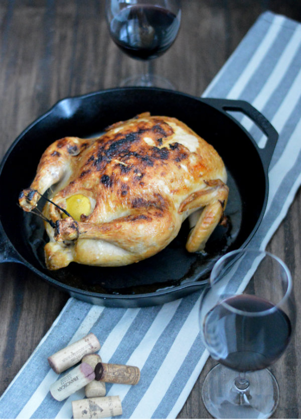 What Wine Should You Pair with Roasted Chicken? A light, fruity Pinot Noir!