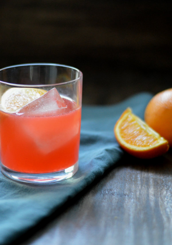 The Chapala Cocktail uses fresh oranges, lemons, and of course....tequila | CaretoPair.com