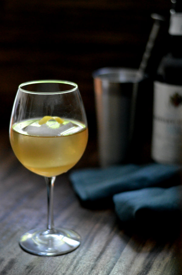 The Sherry Sangaree Classic Cocktail uses dry sherry, Cointreau, and simple syrup to make a perfectly refreshing cocktail | CaretoPair.com
