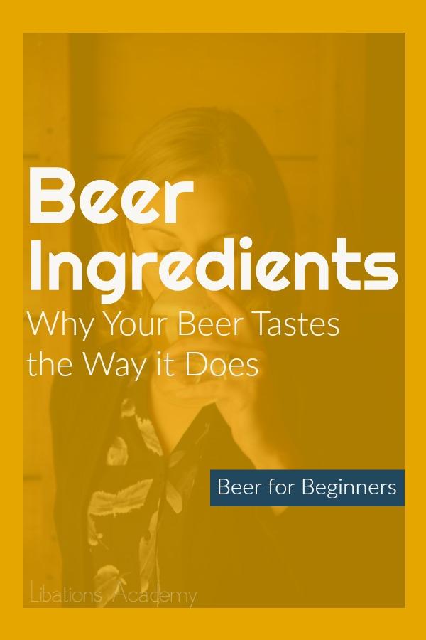 The Ingredients in Beer