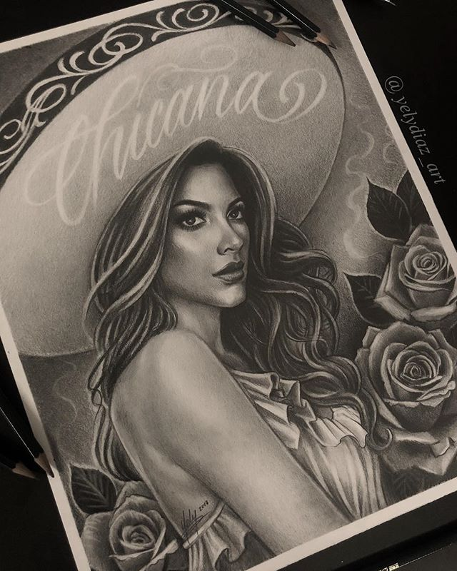 Pencil Drawing I did for @originalsporvida art show. ✨ #ChicanoMagazine #OriginalsMagazine #Charra #TattooArtist #ChicanoArt #ChicanoArtist #MexicanArtist #MexicanAmerican #LosAngeles #FemaleTattooArtist