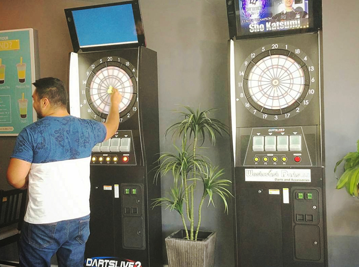 Darts Live Machines