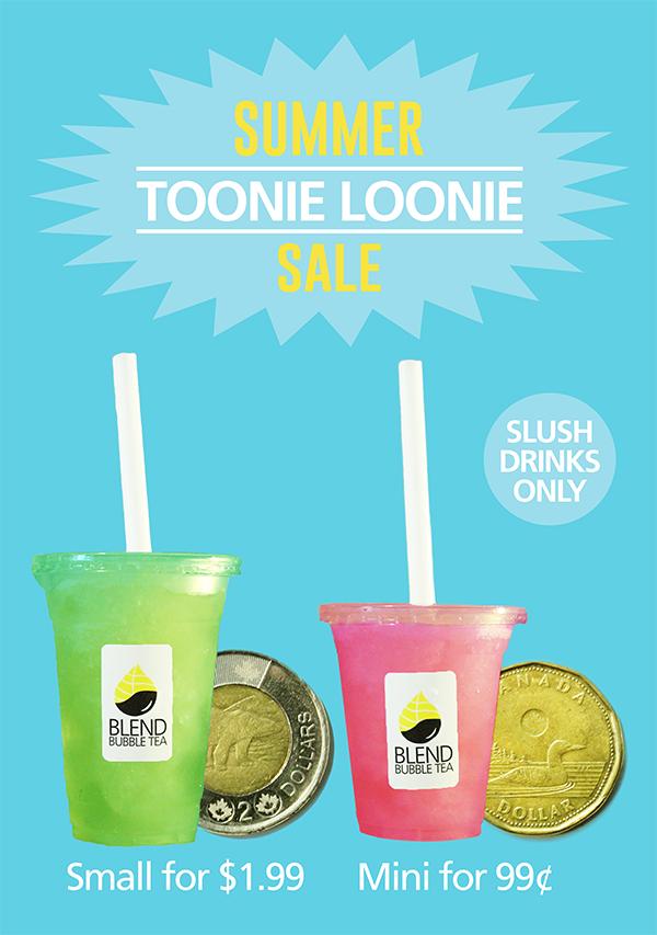 Toonie Loonie Summer Sale