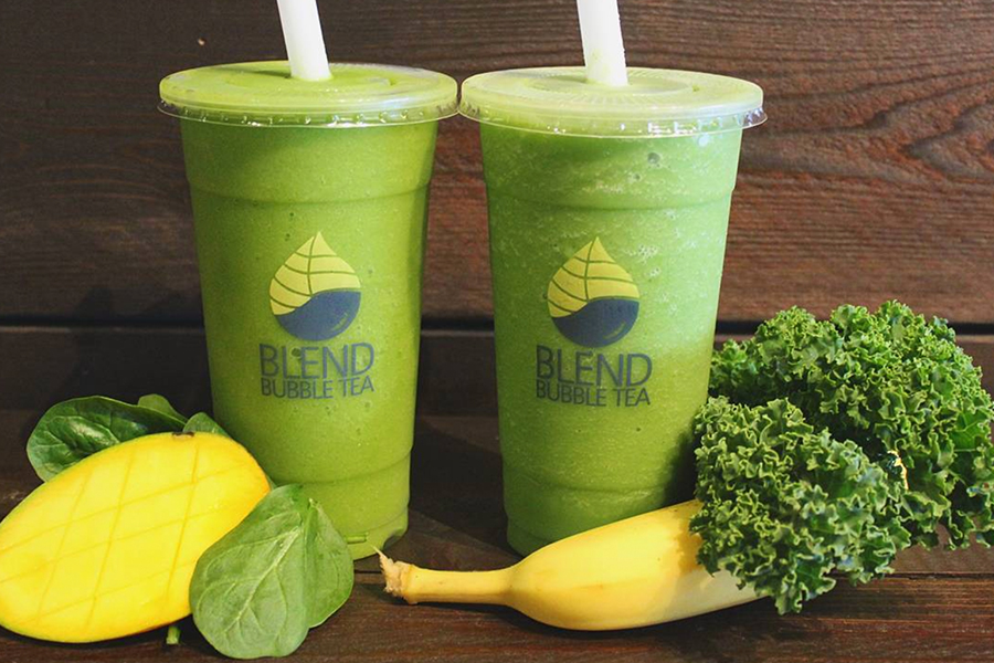 Kale Pineapple and Spinach Mango