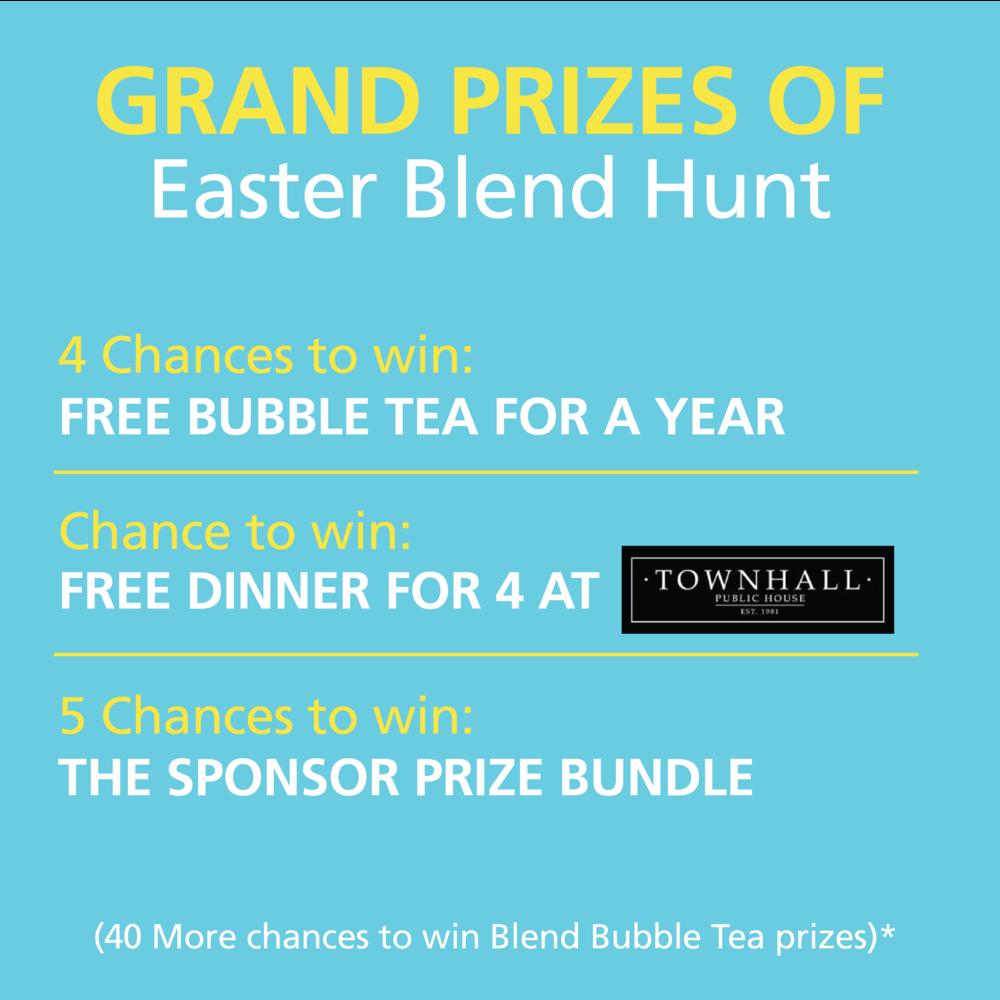 Easter Blend Hunt Prizes