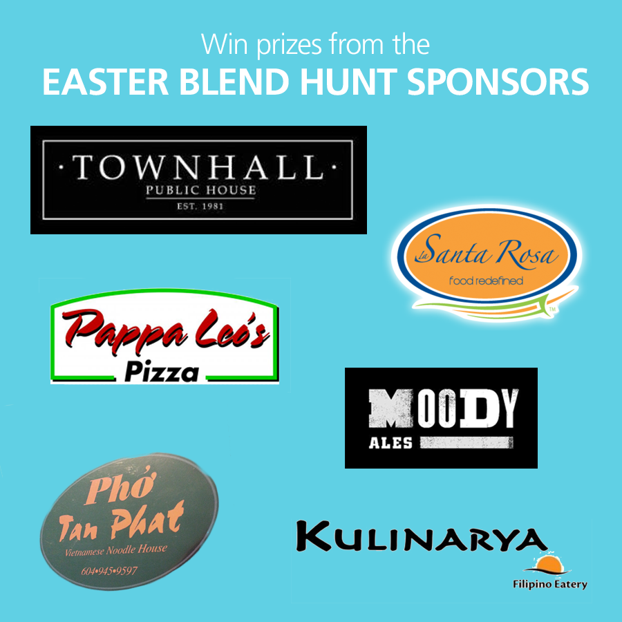 Easter Blend Hunt Sponsors