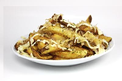Japanese Mayo Fries