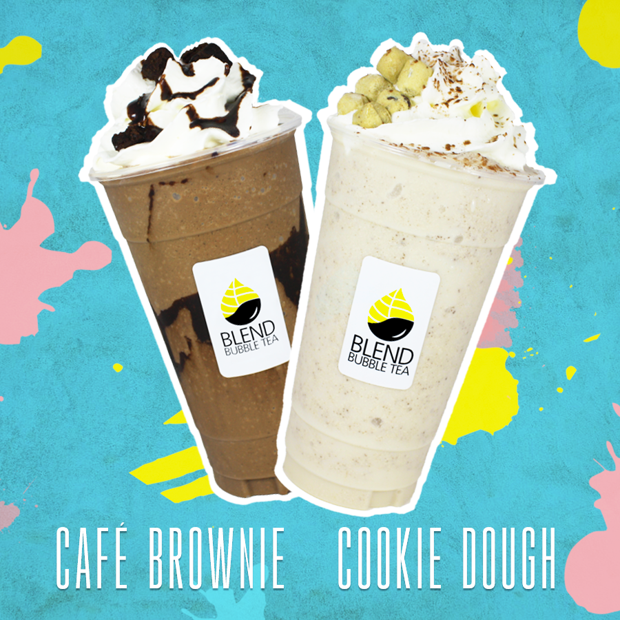 Cookie Dough Cafe Brownie