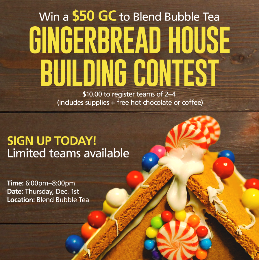 Gingerbread House Building Contest
