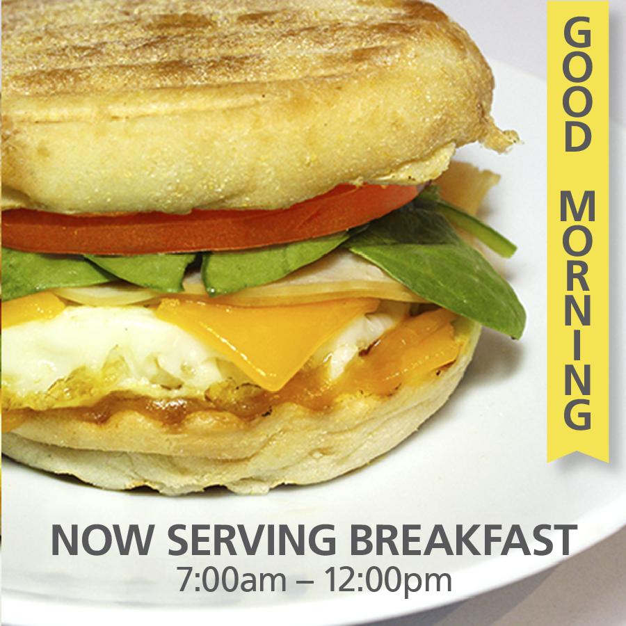 Blend Mornings –Breakfast Sandwiches