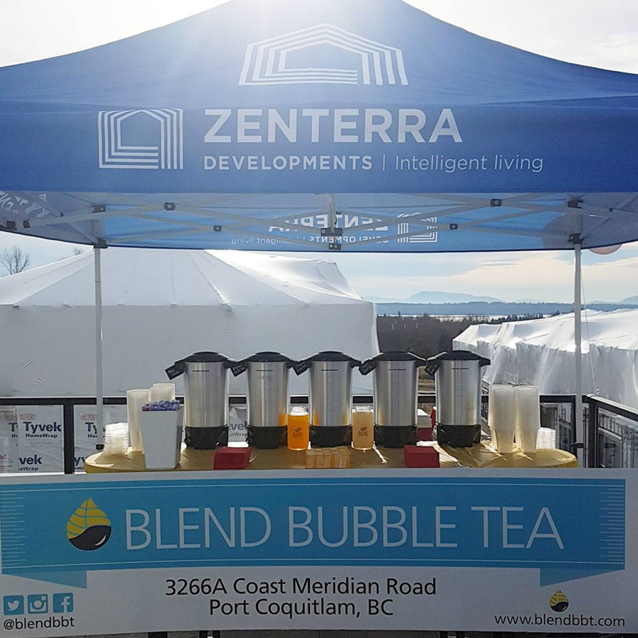 Blend Bubble Tea Catering Zenterra
