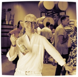 Rae Wilson of  Wine For the People , photo courtesy of Texas Wine Lover.