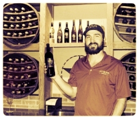 Andrew Sides of  Lost Draw Cellars , photo courtesy of Texas Wine Lover.