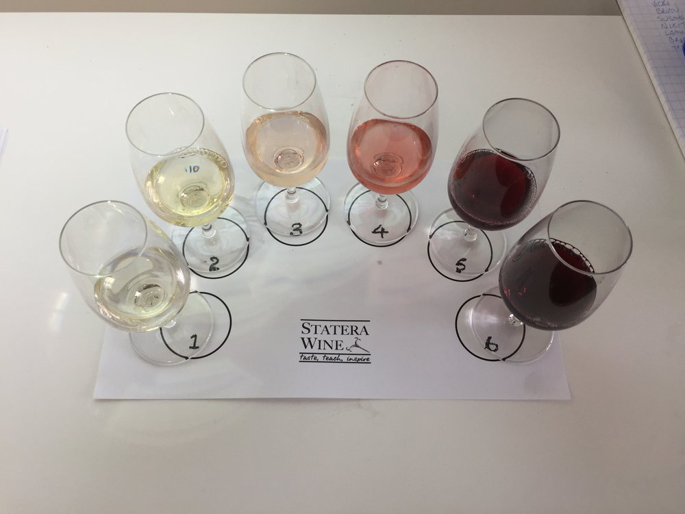 Tasting the world of wine