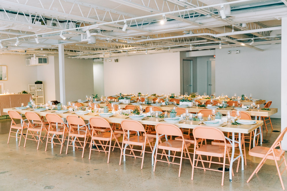 intimate rehearsal dinners, cocktail hours, speaker events, workshops…yes please -