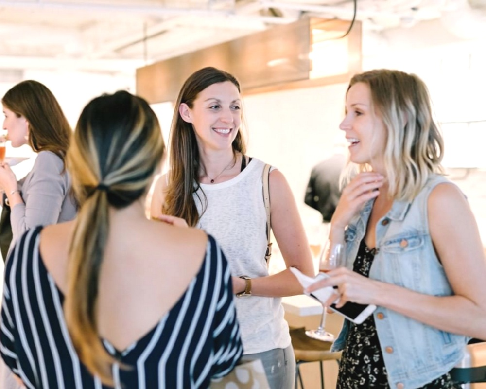 A work + social club for women -