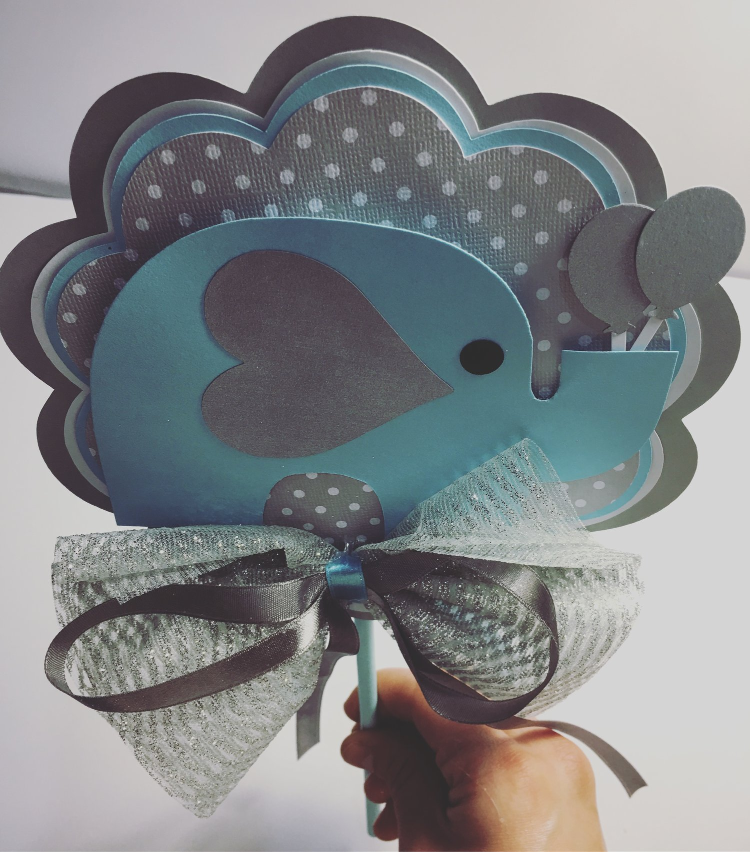 Elephant Baby shower decoration boy baby shower decoration