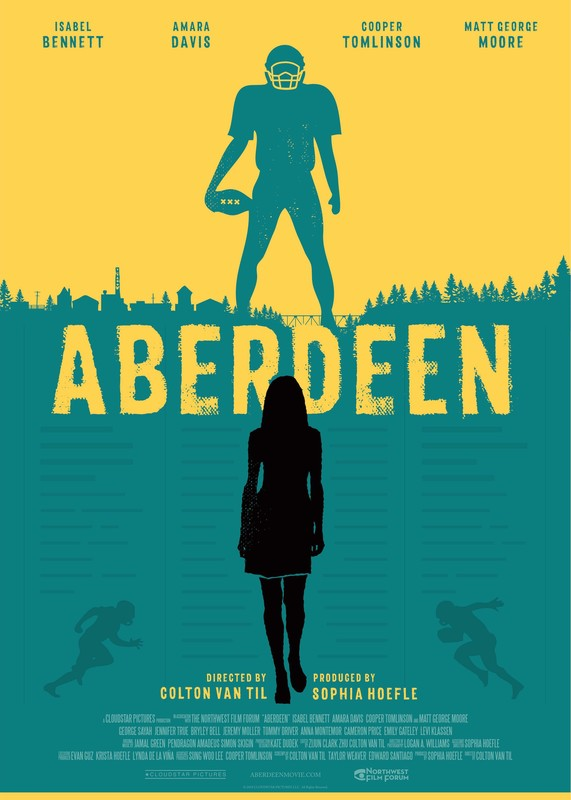 Aberdeen - Directed by Colton Van TilA female journalist tries to break a controversial story in her conservative hometown and must decide between Aberdeen and her career.
