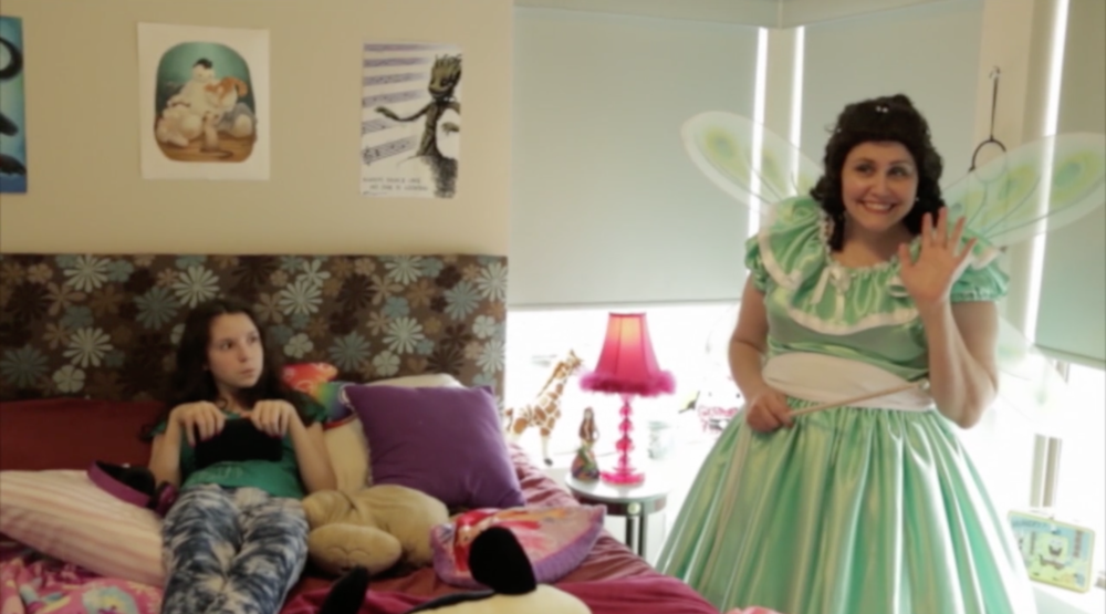 The Captain's Fairy - Directed by Amber RaineyPaige is a typical teenager. She wants to spend her time online and gaming not doing her chores and homework. But every time her mother Eleanor reminds Paige of her responsibilities, somehow they're instantly complete... as if by magic. Is Eleanor going bonkers or has Paige made a deal with a fairy?