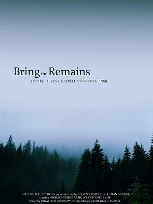 Bring the Remains - Directed by Ernie SmithA fur trapper in the Pacific Northwest during the 1800's is sent on a futile journey to find his missing, possibly dead, brother. When a more fruitful opportunity arises, the fur trapper is left with the repercussions of his avarice, including: increasing delirium, physical manifestations of guilt, and the all too-real creature stalking him through the woods.