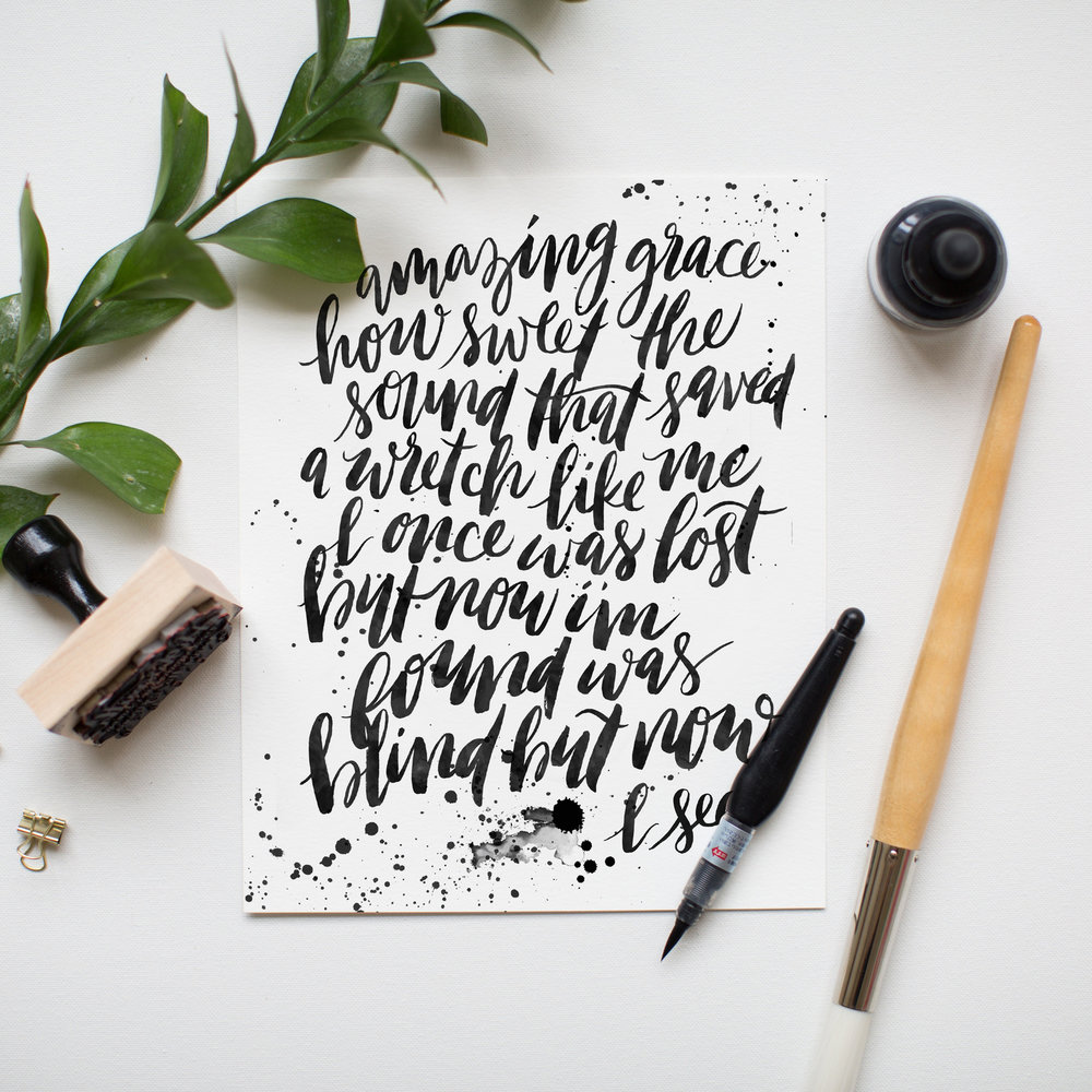 JENNY HIGHSMITH LETTERING