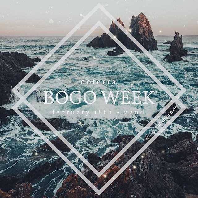 Yesssss!!! BOGOs will be happening today-Friday! This is such an incredible way to save a TON on oils and grab some of your favorites to try or restock! - It usually works like this, you buy Petitgrain and get Lavender for free! Saving nearly 50% on each BOGO! Current members pay wholesale for BOGOs and non-members can still participate and pay retail! (Great way to try out some oils before getting the membership!) If you're a member with the Babe Brigade make sure you are part of our private Facebook group. If you're not, send me a DM! I'll be doing daily giveaways, sharing fun ways to use the BOGO oils and doing an awesome grand prize at the end of the week! If you're not part of the Babe Brigade, you can still participate, just shoot me a DM!  PS - Keep tabs on my IG stories for details on the daily BOGO! 😆🙌🏻⚡️Each daily BOGO will only be available for 24hours so don't miss out!