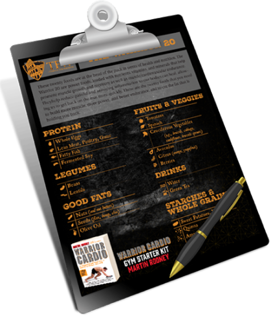 Click The Image To View & Download The Warrior 20 Whole Foods Checklist