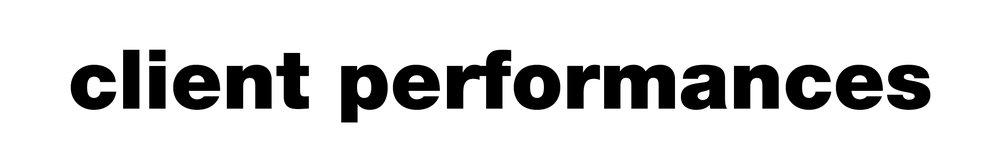 client performances