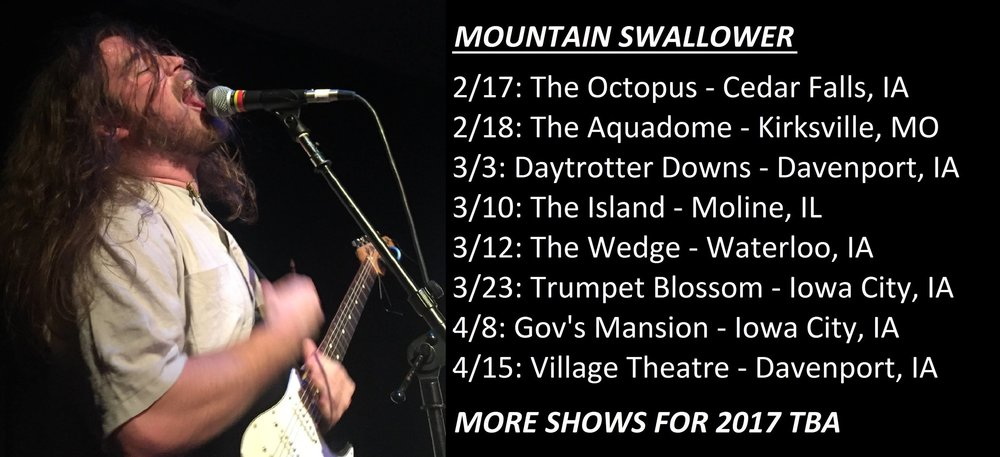 Also make sure to catch a live set from Mountain Swallower if you can!