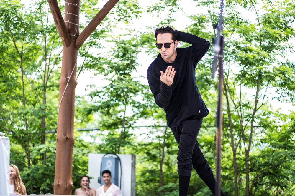 Francis teaches the art of dance