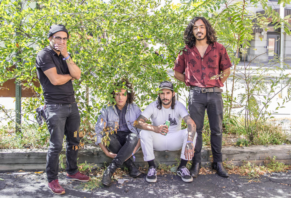 Stuyedeyed is Nelson, Humberto (Bert) Genao, George Ramirez , and Luis Ruelas