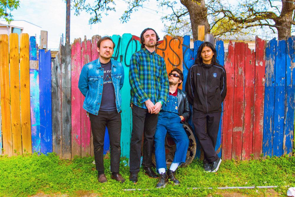 Native Sun is Mauricio Martinez, Jake Pflum, Danny Gomez, and Alexis Castro (Left to Right)