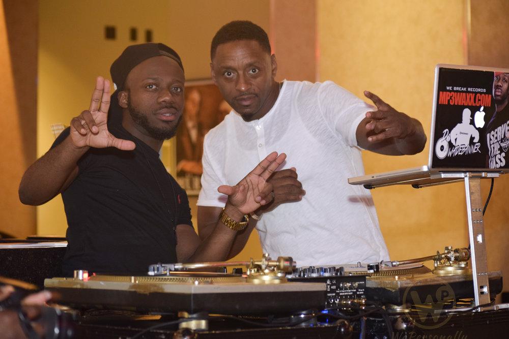 DJ Wade Banner & Brian Dawson of K 97.5