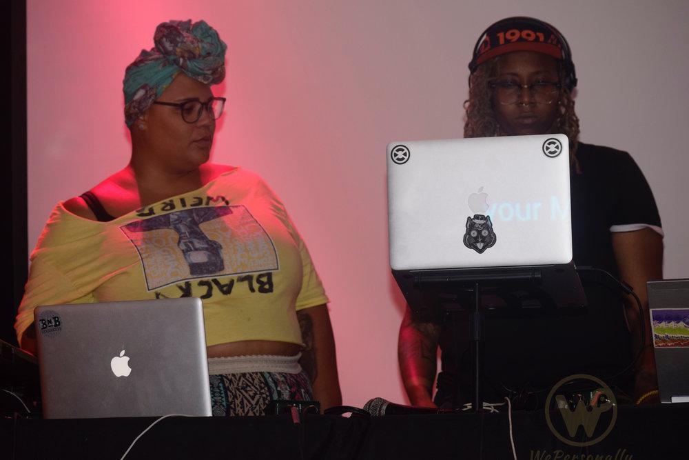 (Left) Conjure Event & Summer of Weirdos Curator and Artist Gemynii
