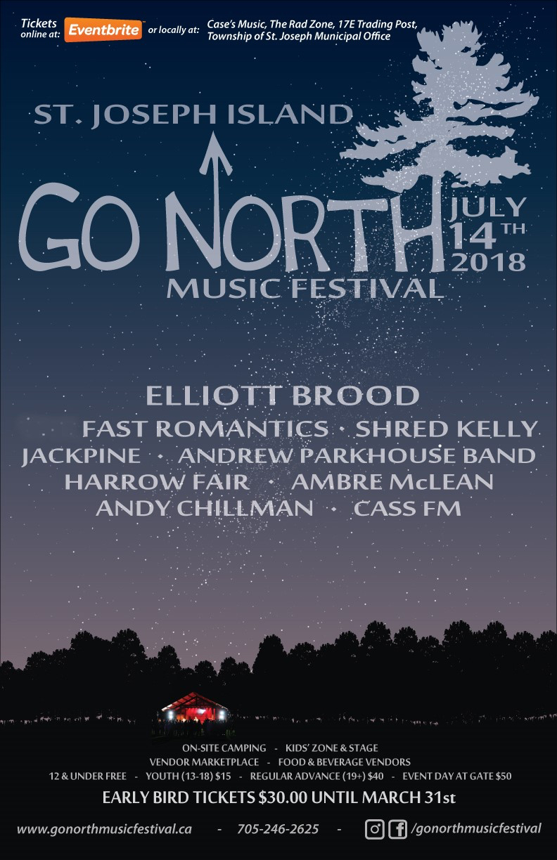 GO NORTH MUSIC FESTIVAL ANNOUNCES LINE-UP — What's The Story?