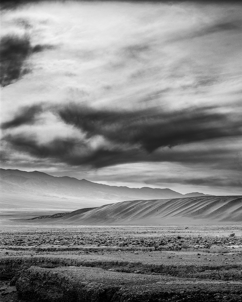 Low Clouds, Death Valley, 2017
