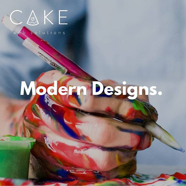 Ask us how to get a free website design mock-up catered to you and your business. #modern #unique #effective #cakewebsolutions