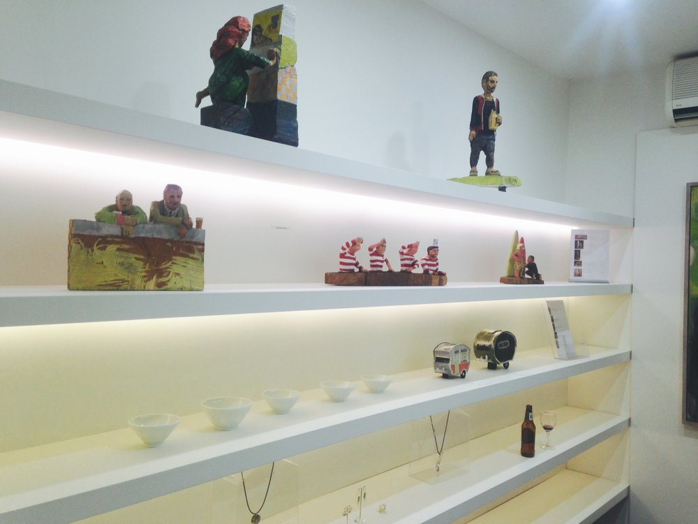 Sculpture display