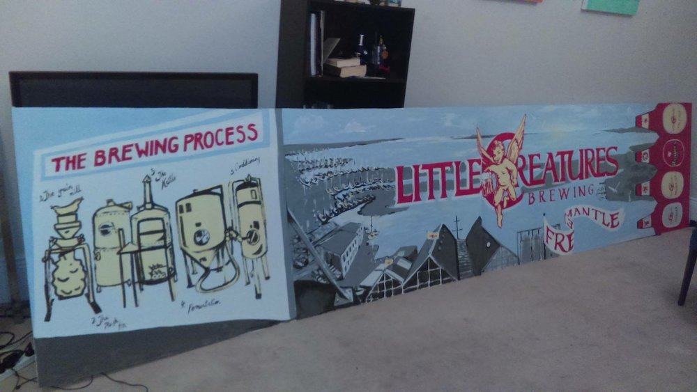 Little Creatures Mural
