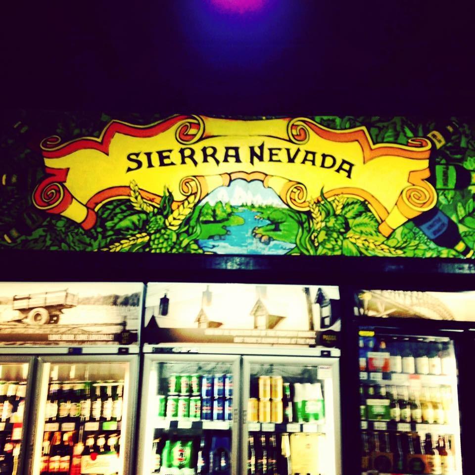 Sierra Nevada mural