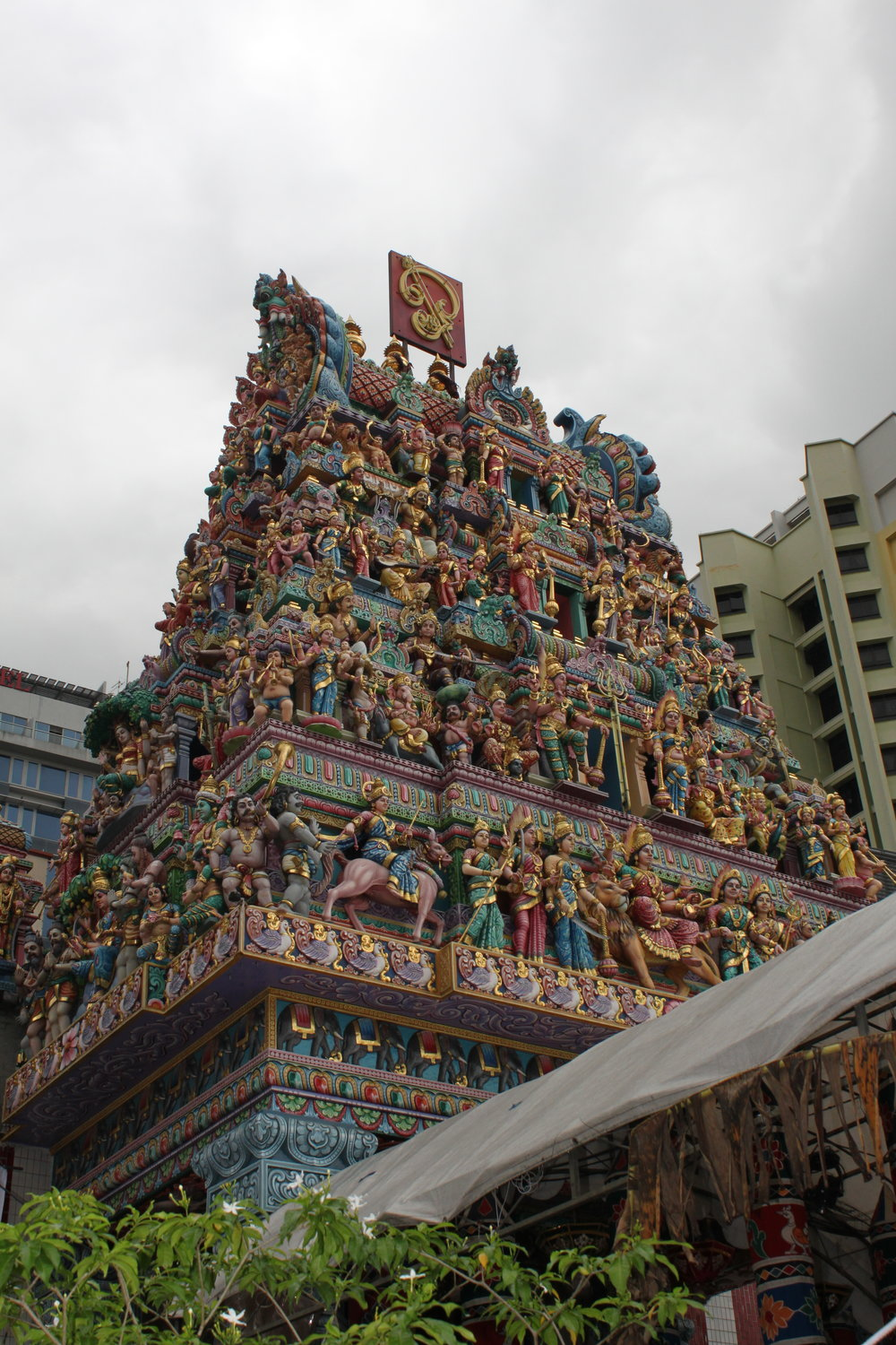 The amazing details of Sri Veermakaliamman Temple