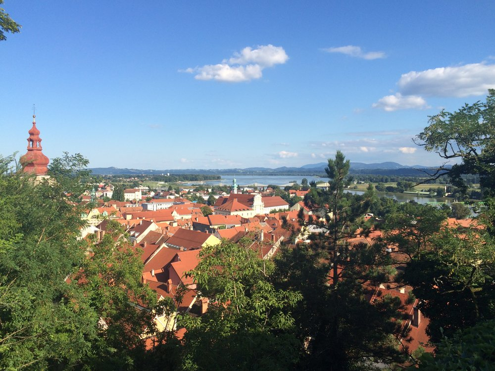 Overlooking Ptuj